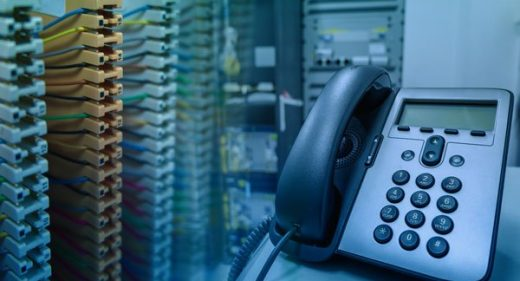 PBX Sytem with Cables